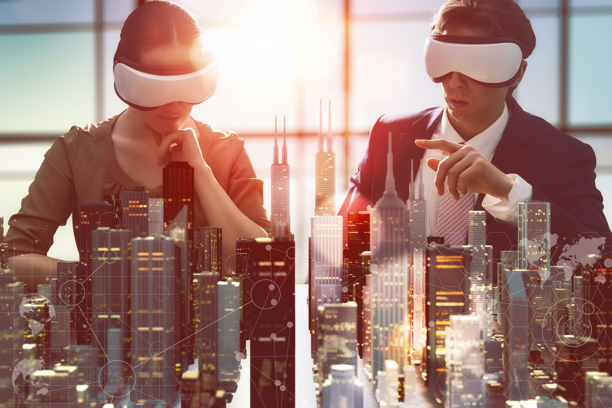 While virtual reality technology already has clear applications in the entertainment industry, it can also aid in leadership development as Dr Richard Carter explains.